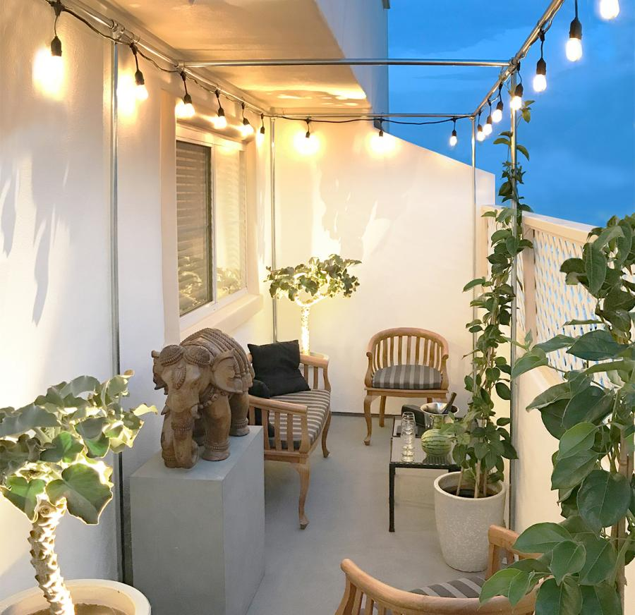 Balcony Lights  Vines Cropped