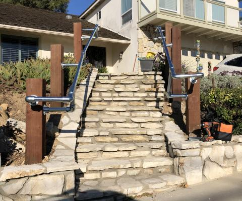 Spotlight: Front Stair Railing